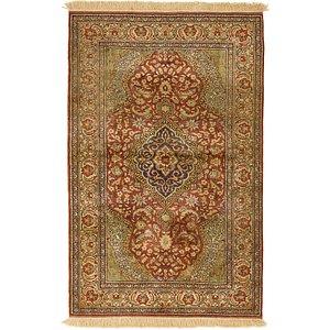 Unique Loom 3' 10 x 6' Kashmir Oriental Rug