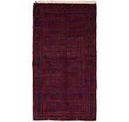 Link to 3' 7 x 6' 7 Hamedan Persian Rug
