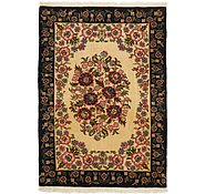 Link to 3' 5 x 4' 9 Qom Persian Rug