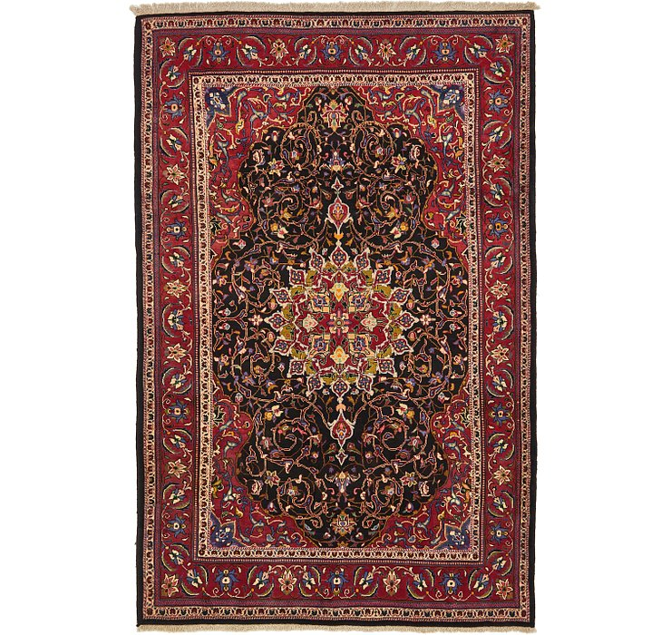 HandKnotted 6' 6 x 10' Mahal Persian Rug