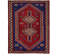 Link to 5' x 6' 6 Shiraz Persian Rug