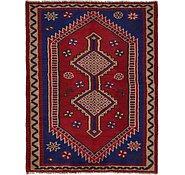 Link to 152cm x 198cm Shiraz Persian Rug