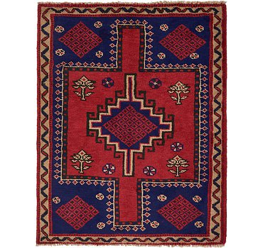 152x193 Shiraz Rug