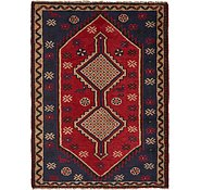 Link to 4' 8 x 6' 4 Shiraz Persian Rug