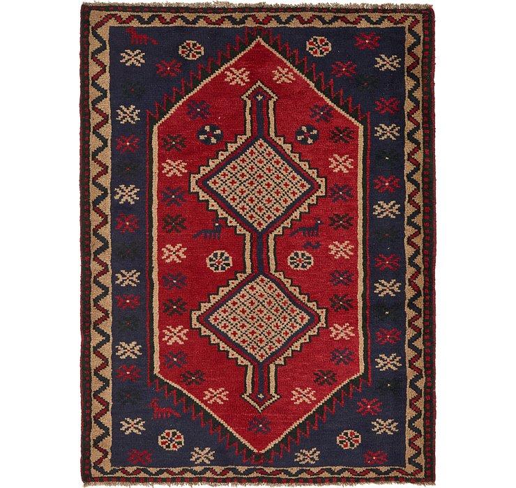 142cm x 193cm Shiraz Persian Rug