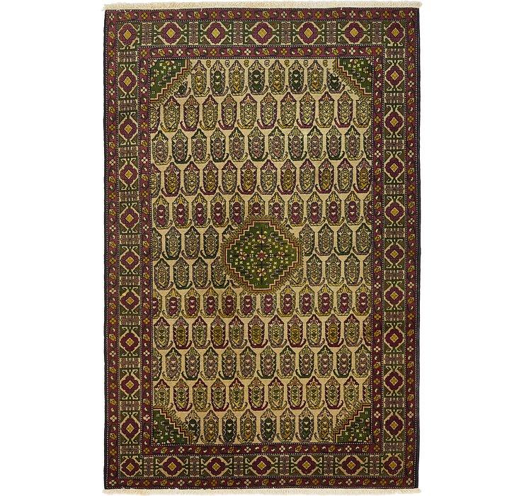4' 5 x 6' 9 Kazak Oriental Rug