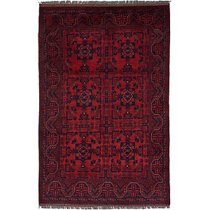 Unique Loom 4' x 6' 4 Khal Mohammadi Oriental...