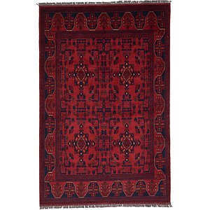 Unique Loom 4' 2 x 6' 2 Khal Mohammadi Oriental...