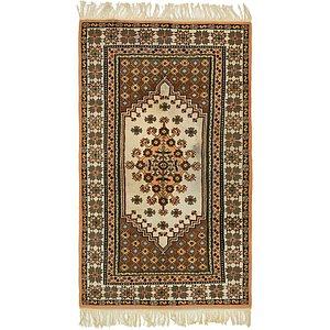 5' 1 x 8' 7 Moroccan Oriental Rug