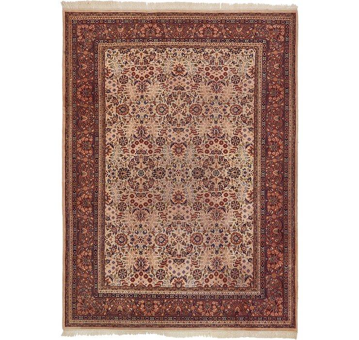 8' x 10' 10 Indo Tabriz Oriental Rug