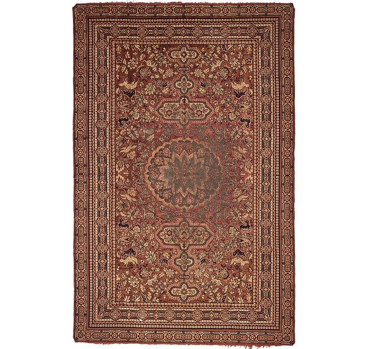 5' 6 x 8' 5 Tabriz Design Rug