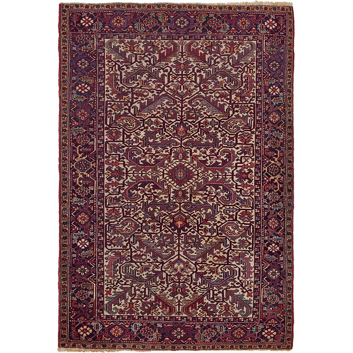 6' 5 x 9' 5 Heriz Persian Rug