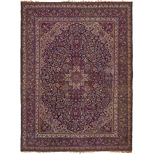 HandKnotted 9' 10 x 13' Kerman Persian Rug