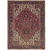 Link to 8' 6 x 11' Heriz Persian Rug
