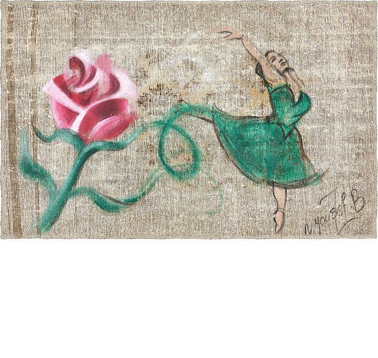 3' 3 x 5' 3 Ultra Vintage Persian Rug