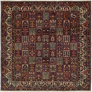 12' x 12' 3 Bakhtiar Persian Squar...