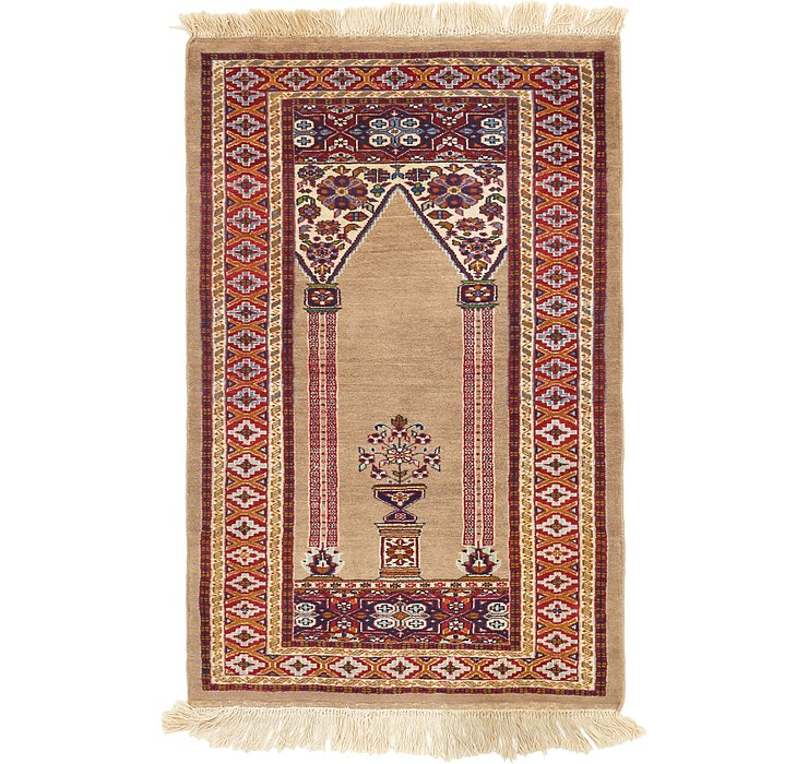 2' 6 x 3' 10 Lahour Oriental Rug