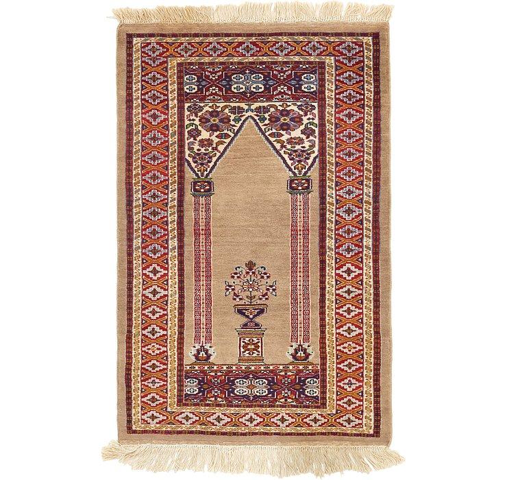 2' 6 x 3' 10 Lahour Oriental Rug