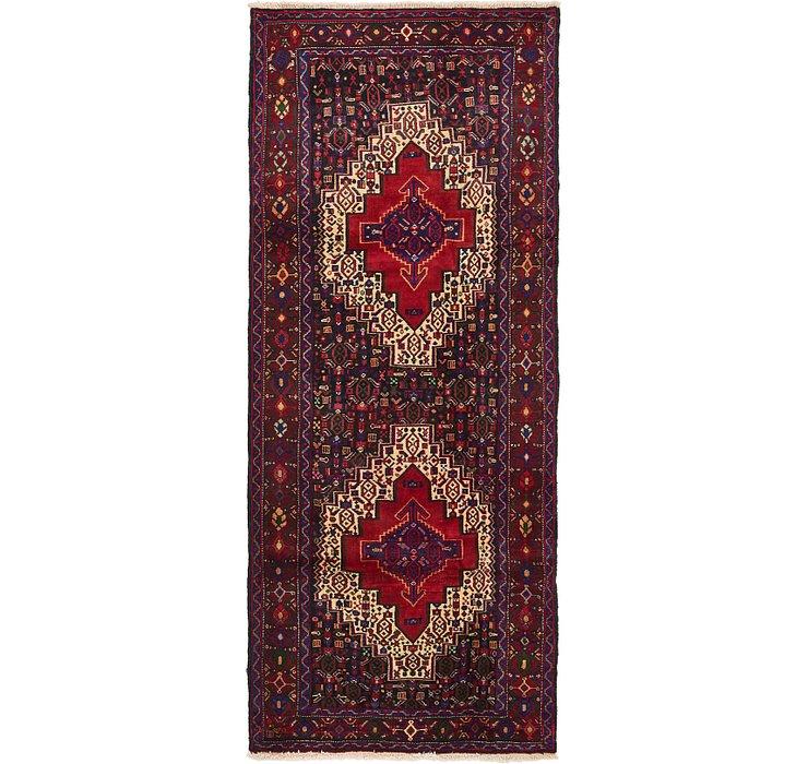 4' 4 x 10' 4 Senneh Persian Runner Rug
