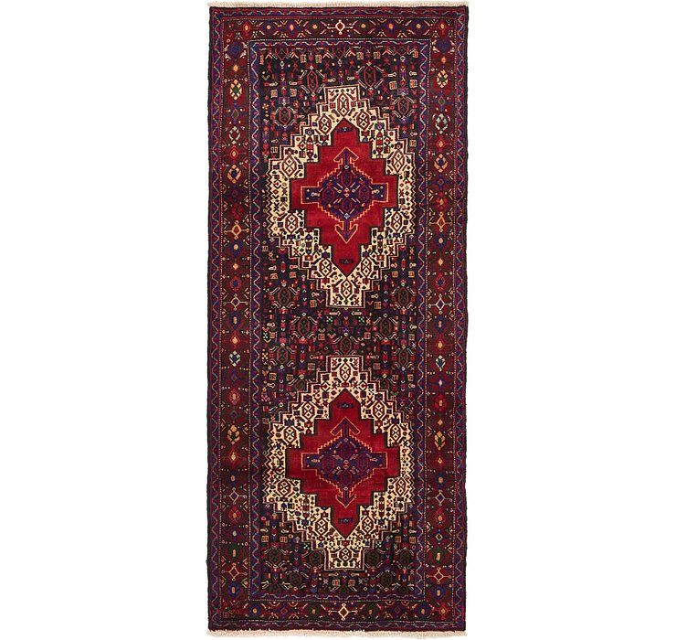 132cm x 315cm Senneh Persian Runner Rug