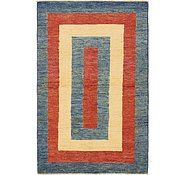 Link to HandKnotted 3' 2 x 4' 10 Modern Ziegler Rug