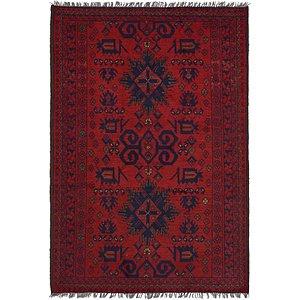 Unique Loom 3' 4 x 4' 9 Khal Mohammadi Oriental...
