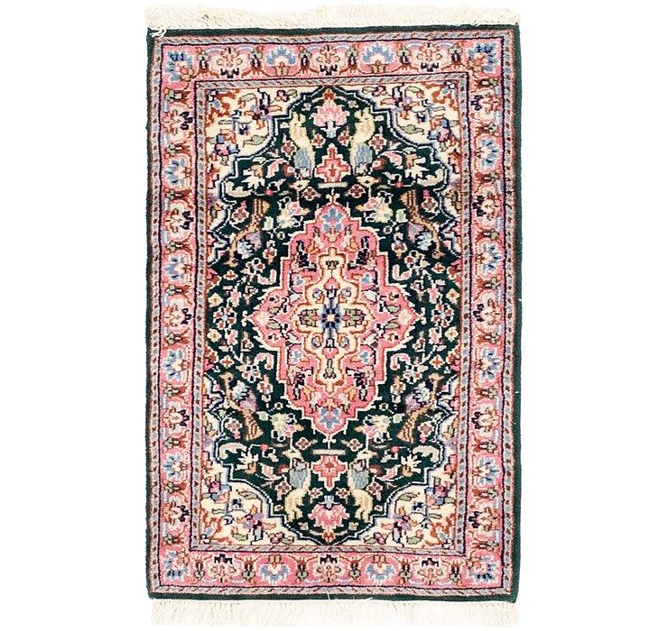 60cm x 100cm Kashmir Oriental Rug