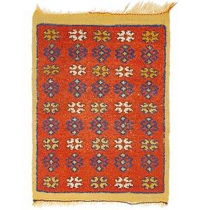 2' 3 x 3' Moroccan Rug