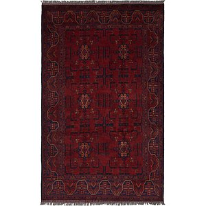 Unique Loom 4' 2 x 6' 8 Khal Mohammadi Oriental...