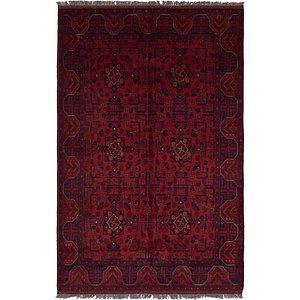 HandKnotted 4' 3 x 6' 7 Khal Mohammadi Oriental...