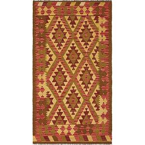 Unique Loom 3' 5 x 6' 4 Kilim Maymana Rug