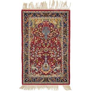 2' 4 x 3' 8 Isfahan Persian Rug