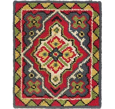 56x69 Moroccan Rug