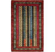 Link to Unique Loom 4' 2 x 6' 7 Modern Ziegler Oriental Rug