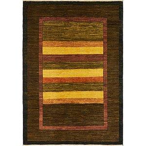 Unique Loom 4' 2 x 5' 10 Modern Ziegler Oriental...