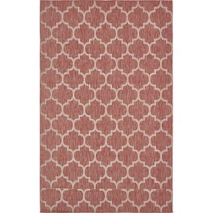 8' x 12' 9 Outdoor Trellis Rug