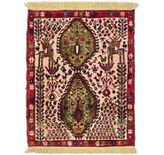 Link to 2' x 2' 6 Shiraz Persian Square Rug