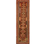 Link to Unique Loom 3' x 9' 8 Kilim Maymana Runner Rug
