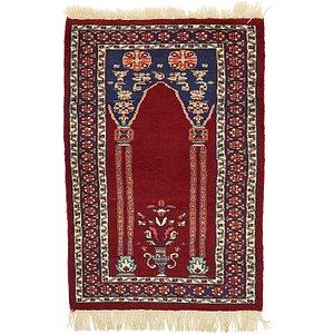 2' 2 x 3' 3 Lahour Oriental Rug