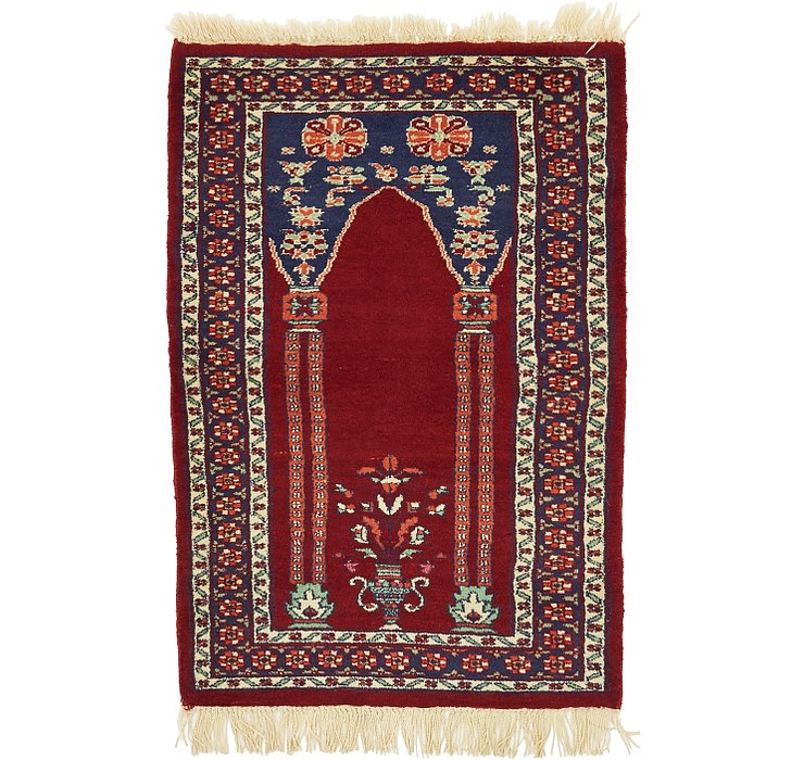 2' 2 x 3' 3 Lahour Oriental Rug