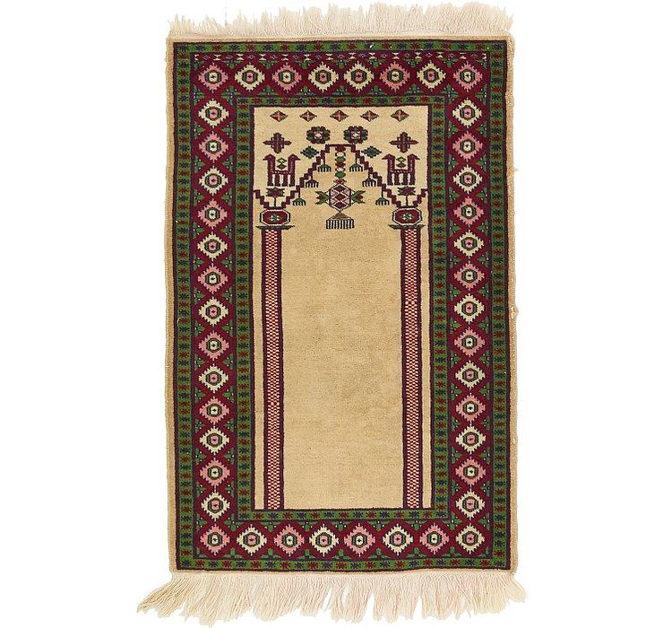 2' 1 x 3' 2 Lahour Oriental Rug
