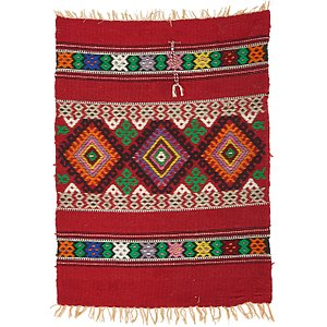 2' 6 x 3' 4 Moroccan Oriental Rug