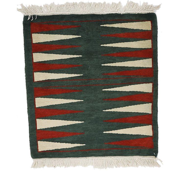 2' x 2' 2 Zoey Oriental Square Rug