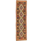 Link to Unique Loom 2' 7 x 9' 8 Kilim Maymana Runner Rug