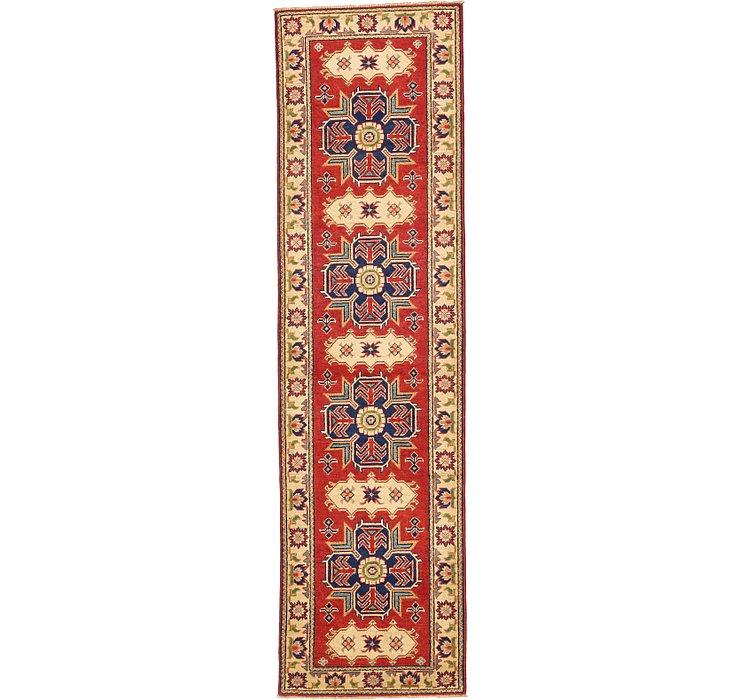 85cm x 300cm Kazak Oriental Runner Rug