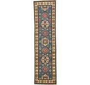 Link to 80cm x 292cm Kazak Oriental Runner Rug