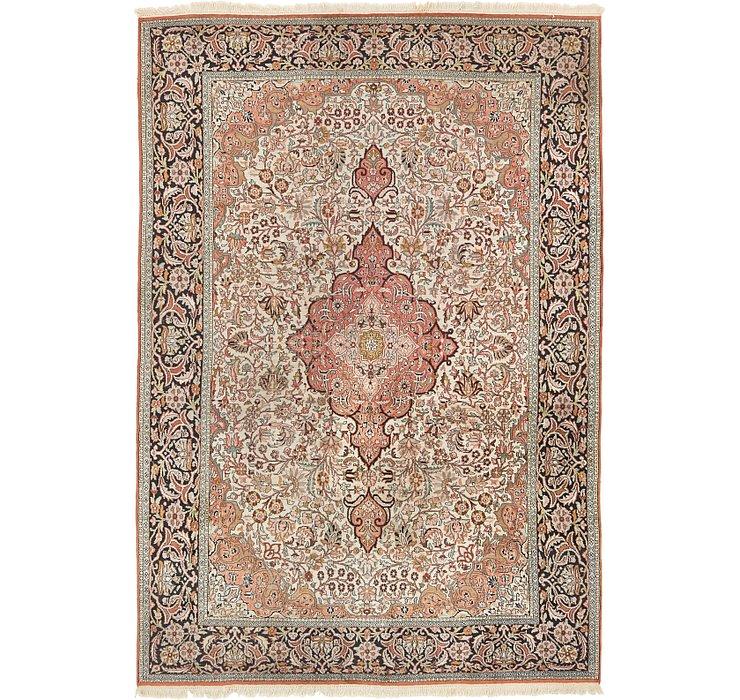 7' 2 x 10' 6 Kashmir Oriental Rug