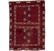 Link to 5' 8 x 7' 10 Afghan Akhche Oriental Rug