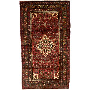 Unique Loom 3' 9 x 6' 8 Hamedan Persian Rug