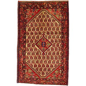 HandKnotted 4' 3 x 6' 10 Farahan Persian Rug